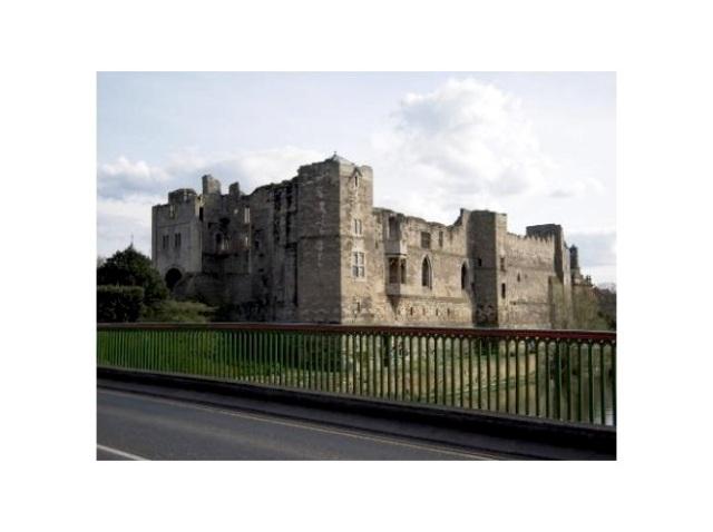 Newark Castle vid floden Trent