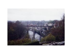 Knaresboroughs dramatiska järnvägsbro