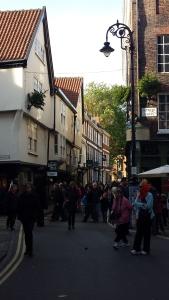 York är promenadvänligt