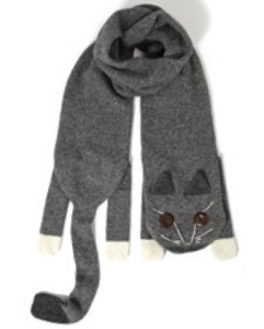 Cat-shape-scarf-L