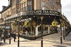 Betty's i Harrogate Foto: Betty's