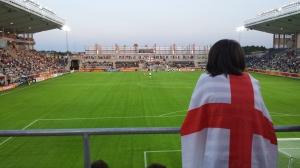 Mot Spanien i EM i Linköping 2013 gick det inte hela vägen