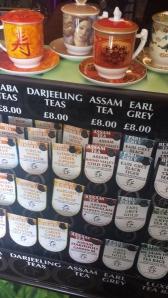 Te från Indien, Sri Lanka, Japan, Kina, Taiwan...