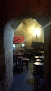 Grottliknande rum