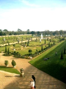 Palatsträdgården Hampton Court