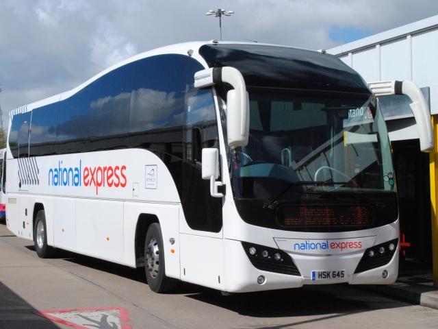 National Express långfärdsbussar