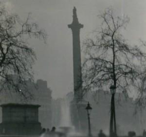 N.T. Stobbs foto av den stora smogen 1952.