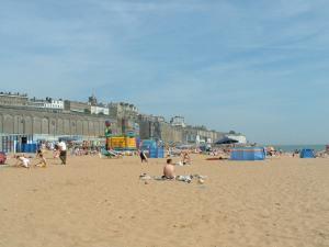 Typisk engelsk strand