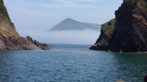 Vulkanö i Söderhavet.