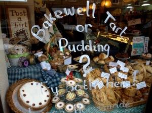 Bakewell tarts eller pudding?