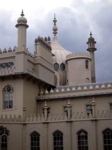 Royal Pavilion är som ett Barbapapahus.