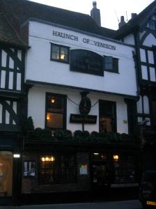 En riktigt gammal pub