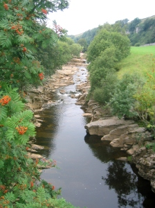 Floden Swale i början