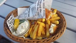 Fish & chips i skärgården