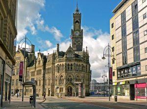 Stadshuset i Bradford Foto: Wikipedia