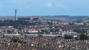 Lister Mills syns över hela staden. Foto: Ian Cowland