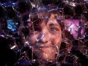 Med bubblor på Science Museum