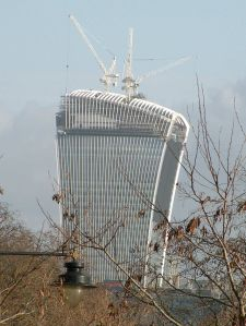 The Walkie Talkie på 20 Fenchurch Street Foto: Keith Edkins