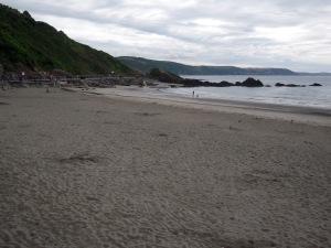 Stranden i Looe