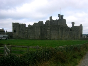 Slottet i Middleham