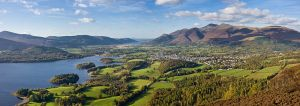 Keswick i Lake District Foto: Diliff, Wikipedia