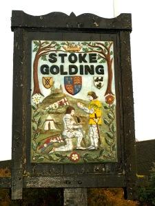 I Stoke Golding visar man sin historia