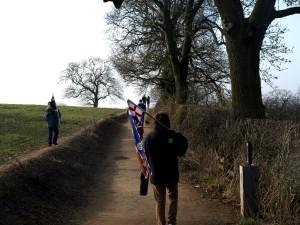 Historisk engelsk promenad.