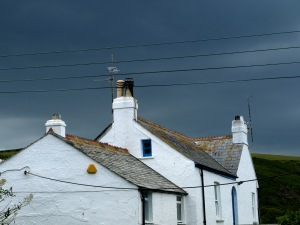 Vädret i Cornwall är spännande
