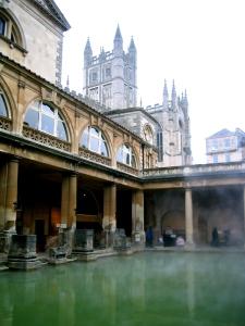 Vackra romerska bad.
