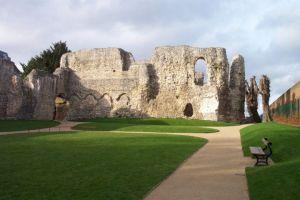 Väggen till munkarnas sovsalar på Reading Abbey   Foto: Wikipedia
