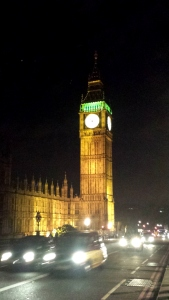 Utsikt från Westminster Bridge