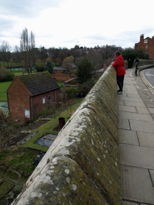 Stadsmuren i Shrewsbury
