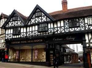 Snacka om vinhandel de har i Shrewsbury