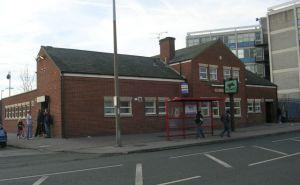 Pub eller arbetsförmedling? Oklart i Harehills.  Foto: Wikipedia