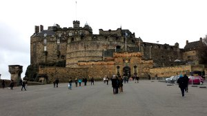 Den stora platsen utanför slottet