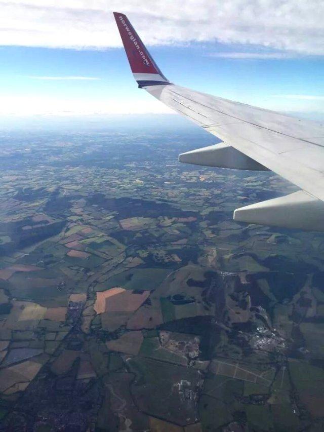 Hampshire från ovan