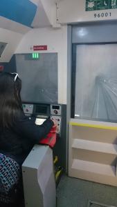 Provkör tunnelbanan