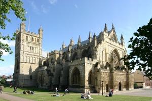 Exeters katedral Foto: Wikipedia