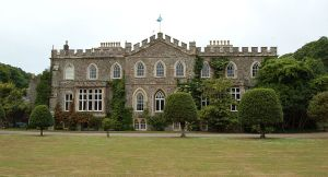 Antikrundan var på Hartland Abbey  Foto: Greenshed