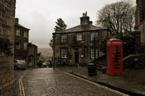 Brontës hemby Haworth  Foto: Dave Green