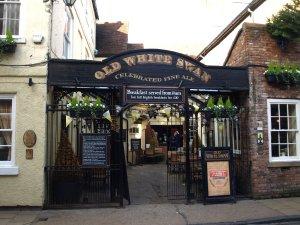 Barnvänlig historisk pub