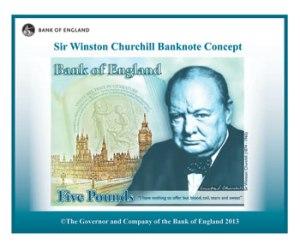 Sir Winston Churchill Concept Image