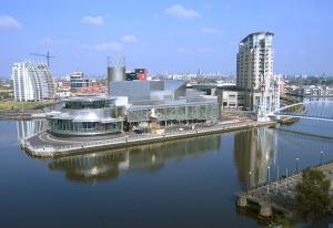 Salford Quays. Foto: Wikipedia