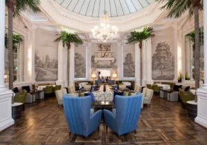 Palm Court, Balmoral Hotel, Edinburgh