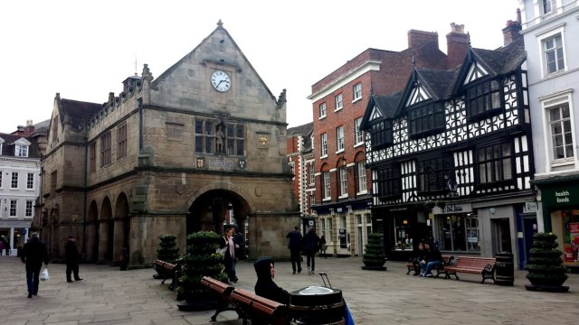 Old Market Hall på torget