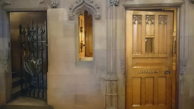 John Rylands librarians office