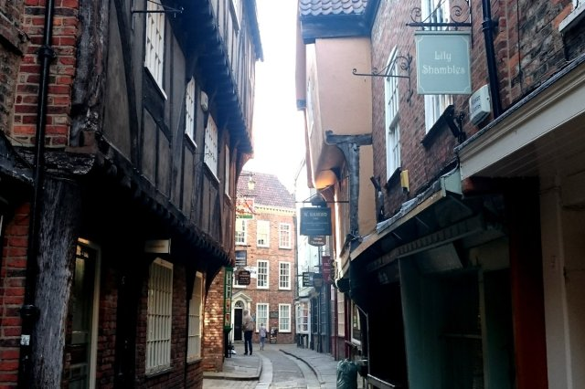 The Shambles i York