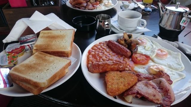 Ayia Napa breakfast