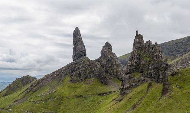 Old Man of Storr, Skye Foto: Diliff, Wikipedia