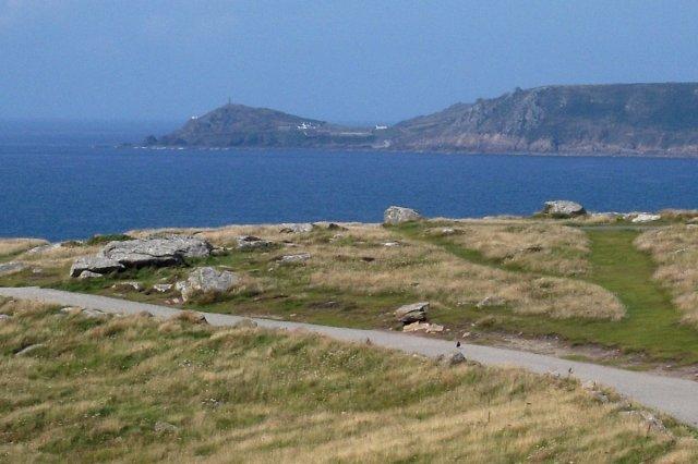 Cape Cornwall ansågs västligare tills Ordnance Survey kartorna kom